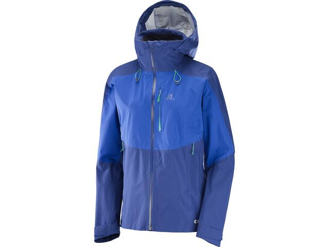 Salomon One & Only 3L Jacket Dame medieval blue